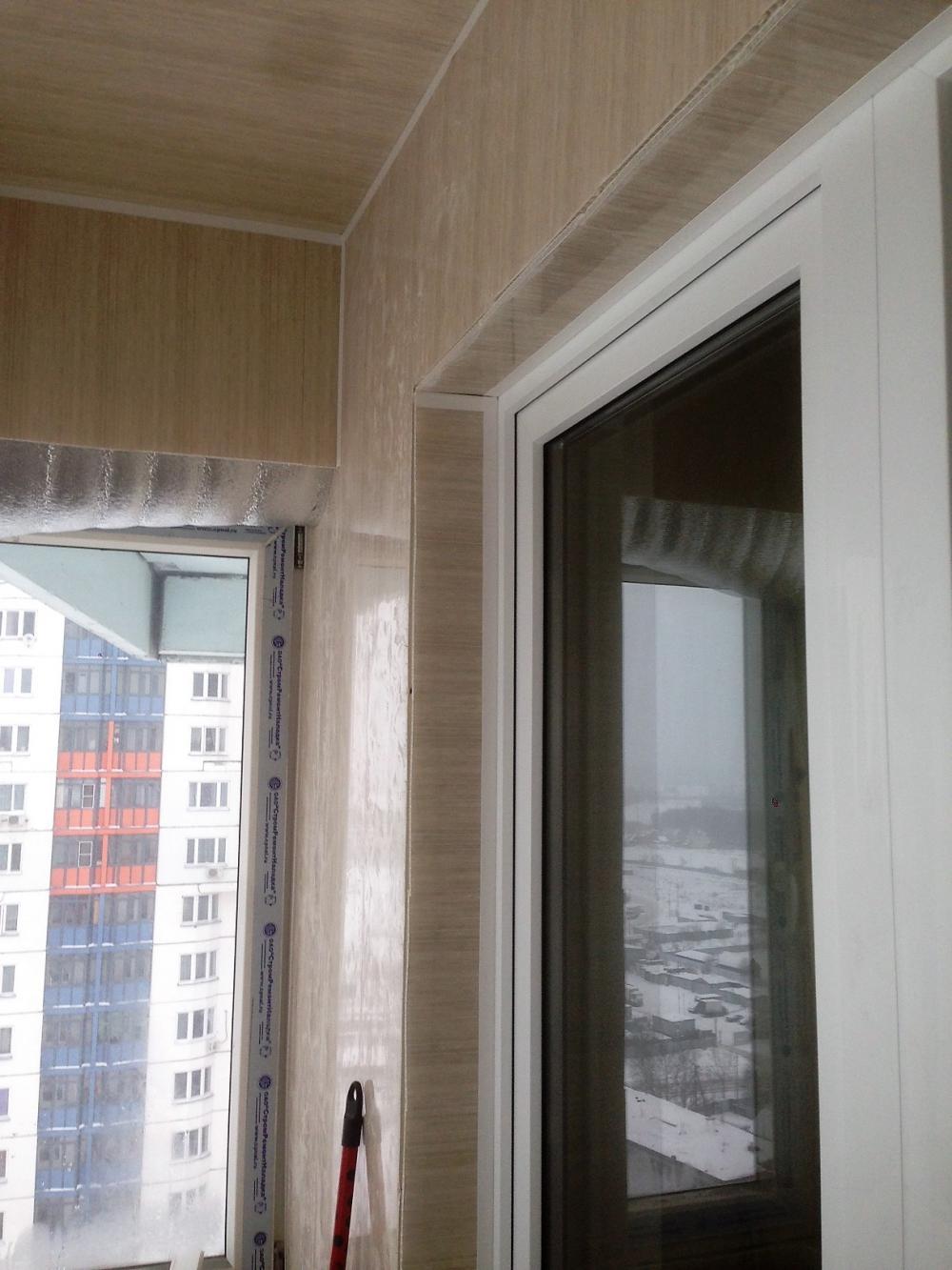 Отделка балконов дешево.